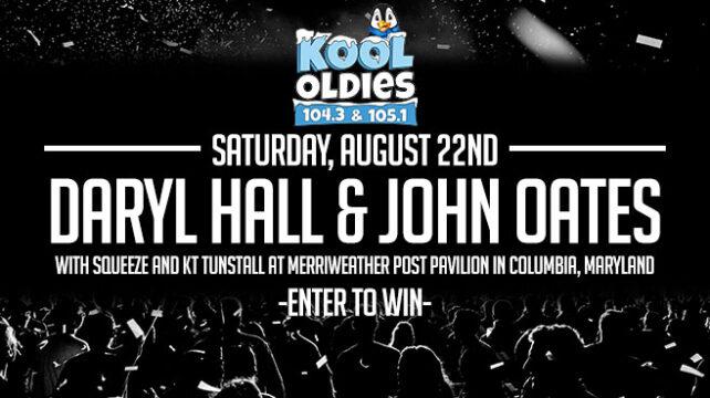 Daryl Hall & John Oates   Aug 22nd