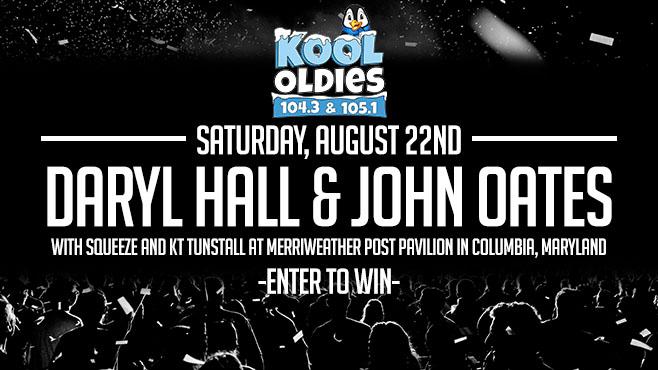 Daryl Hall & John Oates | Aug 22nd