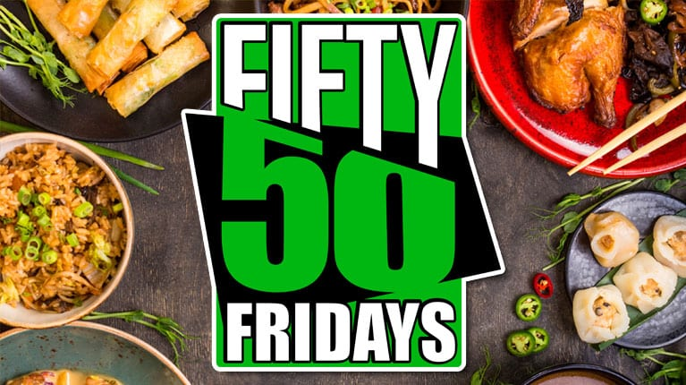 Fifty / 50 Fridays