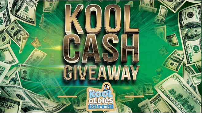 KOOL Oldie's KOOL CASH Giveaway