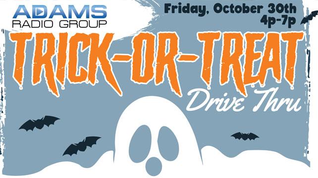 Trick-or-Treat Drive Thru Oct 30th